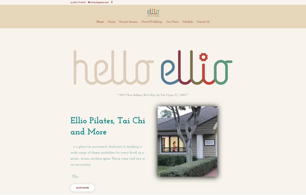 ellio-pilates-homepage